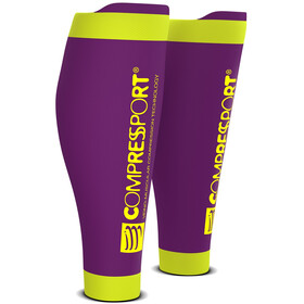 Compressport R2V2 Calf Sleeves Purple
